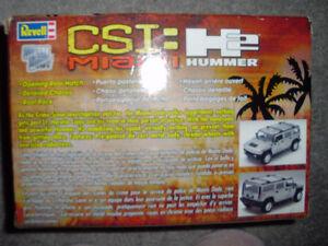 Revell Model CSI:  Miami H2 Hummer - New never used in box Cambridge Kitchener Area image 2