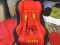 Ferrari lux baby child reclining car seat