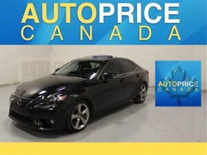 2014 Lexus IS 350 NAVIGATION AWD MOONROOF LEATHER