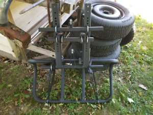 ATV front loading rack