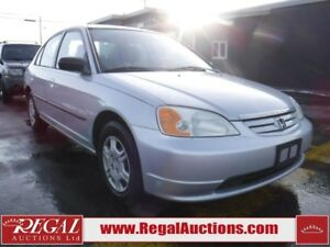 2002 HONDA CIVIC DX-G 4D SEDAN DX-G