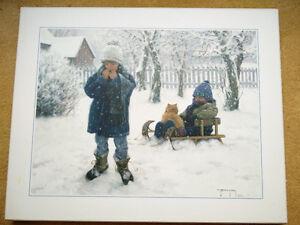 Robert Duncan Winter's Blanket Sled Snow