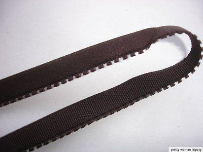 10m elastische Spitze  0,25€/m dunkelbraun ED106