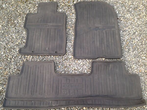 Civic rubber floor mats