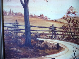 3 Original Oil Paintings from a Series by O.J. Coghlin Stratford Kitchener Area image 4