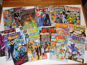 Lot of 17 SUPER-HERO COMIC BOOKS for just $20.00!!