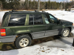 1994 Jeep Cherokee Grand SUV, Crossover