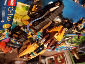 LEGO 70005 ALREADY BUILT Laval's Royal Fighter
