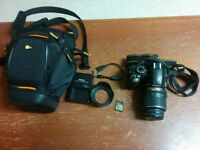 SELLING MY NIKON D3100 CAMERA WITH CARRY CASE