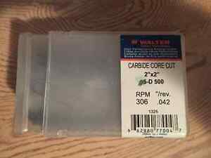 Brand new annular cutters, various sizes