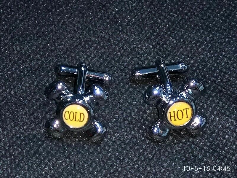 Authentic RAOUL Hot and Cold Tap Cufflinks