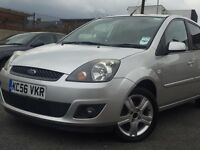 2007(56)FORD FIESTA ZETEC CLIMATE 5 DOOR*HATCHBACK 1.4 PETROL*BHP 79*LONG MOT*HPI CLEAR*P/X WELCOME*