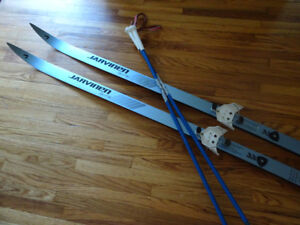 Javinen Cross Country Skis and Excel Poles