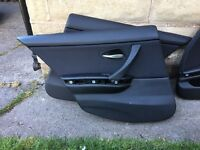 BMW e90 door cards and centre console