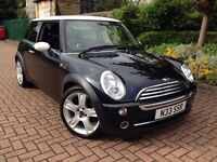 2006 56 Reg Mini Cooper Black with Private Registration Number Plate