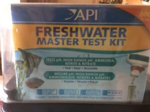 Practically brand new API fish tank water tester!