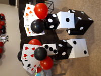 Everything you need to host an amazing Casino themed party!