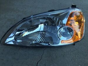 2001-2003 Honda Civic Coupe Driver Side Headlight