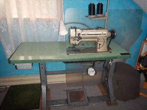 Machine A Coudre Industrielle Singer Model 211 U566A A Cuir