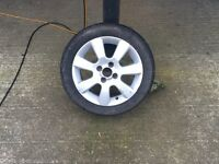 Genuine 15inch Vauxhall Corsa SXI Alloy with Good Tyre