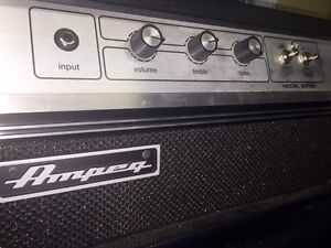 Ampeg gvt5h tube head