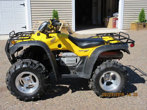 Hard to Find in Nearly New Cond 2004 TRX400FGA  Rancher