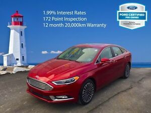 2017 Ford Fusion SE   CPO - Interest Rates at 1.99%