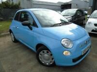 2011 Fiat 500 1.2 POP - Blue - Platinum Warranty!