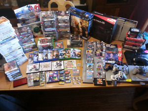 Video Game Collection for Sale