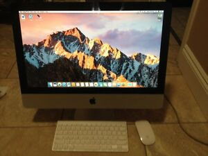 2  imacs 21.5 and 20 in