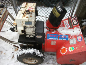 "5hp 24"" MTD snowblower"