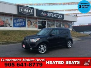 "2015 Kia Soul EX+  BACK-UP CAM HTD-SEATS BT 17""ALLOYS"