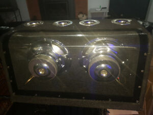 "Dual 10"" Subwoofer Box - Originally paid over $600, $300 OBO"