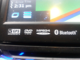 Multimedia head unit pop out screen