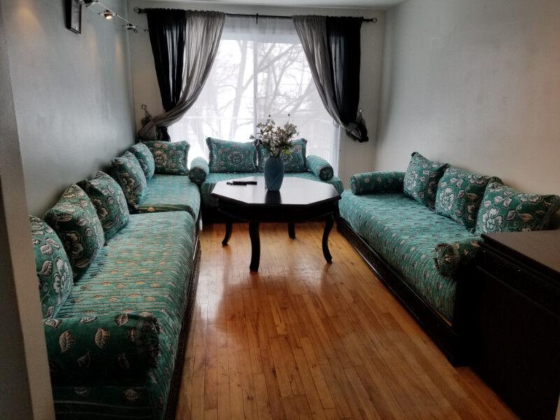 Très beau salon marocain à vendre   Sofas et futons   Ville de ...