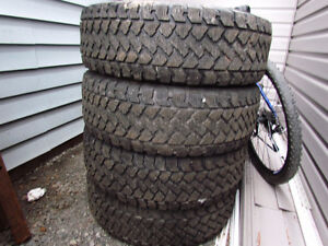 Winter Tires 225/70/16