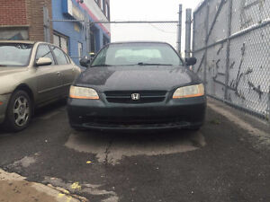 Honda Accord 1999 Automatic Full equipped. Toit, Cuir ,AC 1499$
