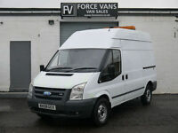 FORD TRANSIT 350 2.4TDCi MWB HIGH TOP WORK COMPRESSOR TOOL SITE CREW CAMPER VAN