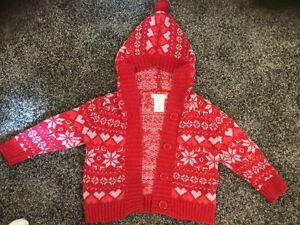 Euc 6-12m Xmas sweater Kitchener / Waterloo Kitchener Area image 1