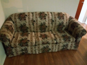 Pullout couch (hide-a-bed)
