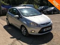 Ford Fiesta 1.25 2011 Zetec MANUAL, 65.000 MILES,SERVICE HISTYORY, ''FINANCE''