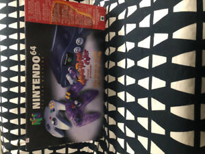 Original N64 Console + Two controller as Shown in Box
