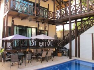 Beautiful Luxury All Wood Villas with pool in Tulum Mexico