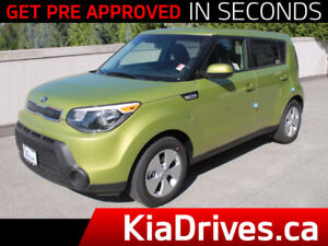 2016 Kia Soul LX+ **LOW MILEAGE**