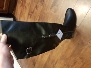 Brand New Tall Black Boots - Size 9