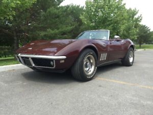 1968 Chevrolet Corvette 502ci/4-Speed GM Crate Engine