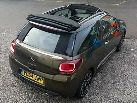 2014 CITROEN DS3 1.6 e HDi Airdream DStyle Plus Cabriolet Convertible