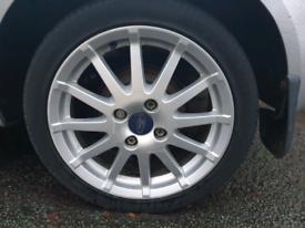 Ford Fiesta Zetec S ST Alloy Wheels 195/45/16 4x108