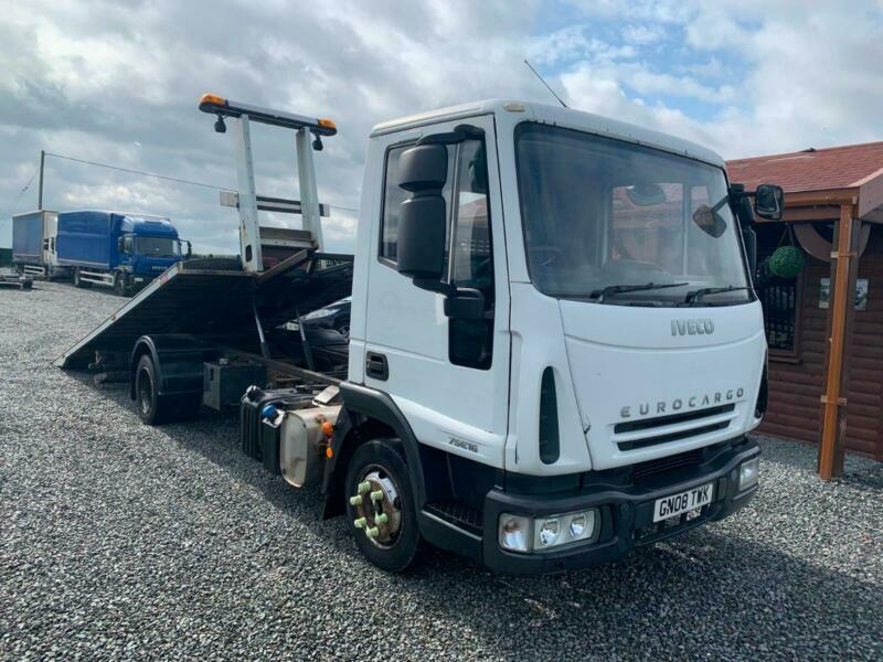 2008 Iveco Eurocargo 75E16 Recovery Tilt & Slide Body With Spec Lift Manual  7 5t | in Hinckley, Leicestershire | Gumtree