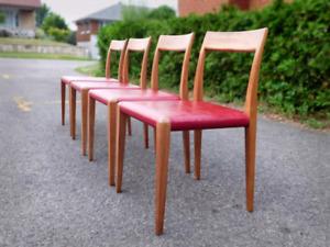 Vintage Mid century Danish Chairs